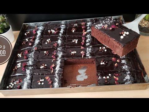 كيكة-الشوكولاطة-عائلية-اقتصادية-100%-gâteau-au-chocolat