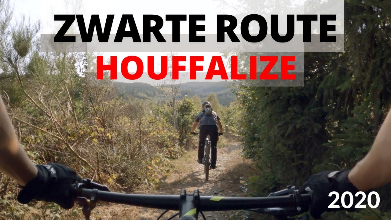 Mountainbiken in Houffalize in België - Door Jasper's Avonturen