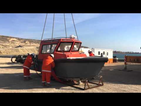 Aluminium workboat Alunautic SB 6.50 Cabin