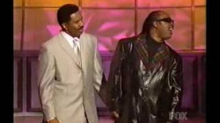 "Steve Harvey and Stevie Wonder - ""I Wish"" parody at 2002 Essence Awards"