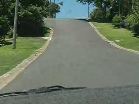 Achterbahn Strasse Australien
