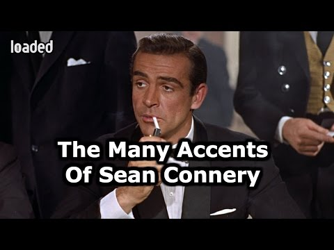 The Many Accents Of Sean Connery