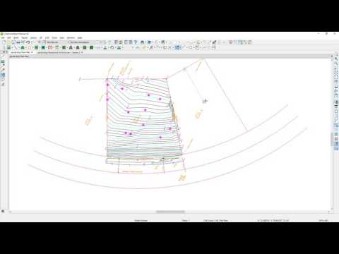 Import a Surveyor DWG file for a Site Plan or Terrain Perimeter