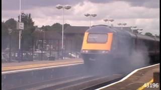 HST ON FIRE @ Didcot Parkway 19/8/10