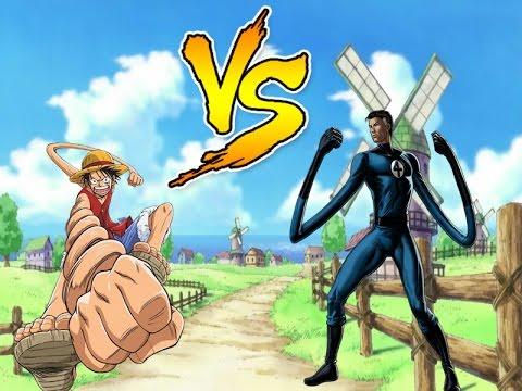 Luffy Vs Mr Fantastic