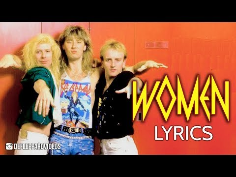 Def Leppard  Women Lyric  HD