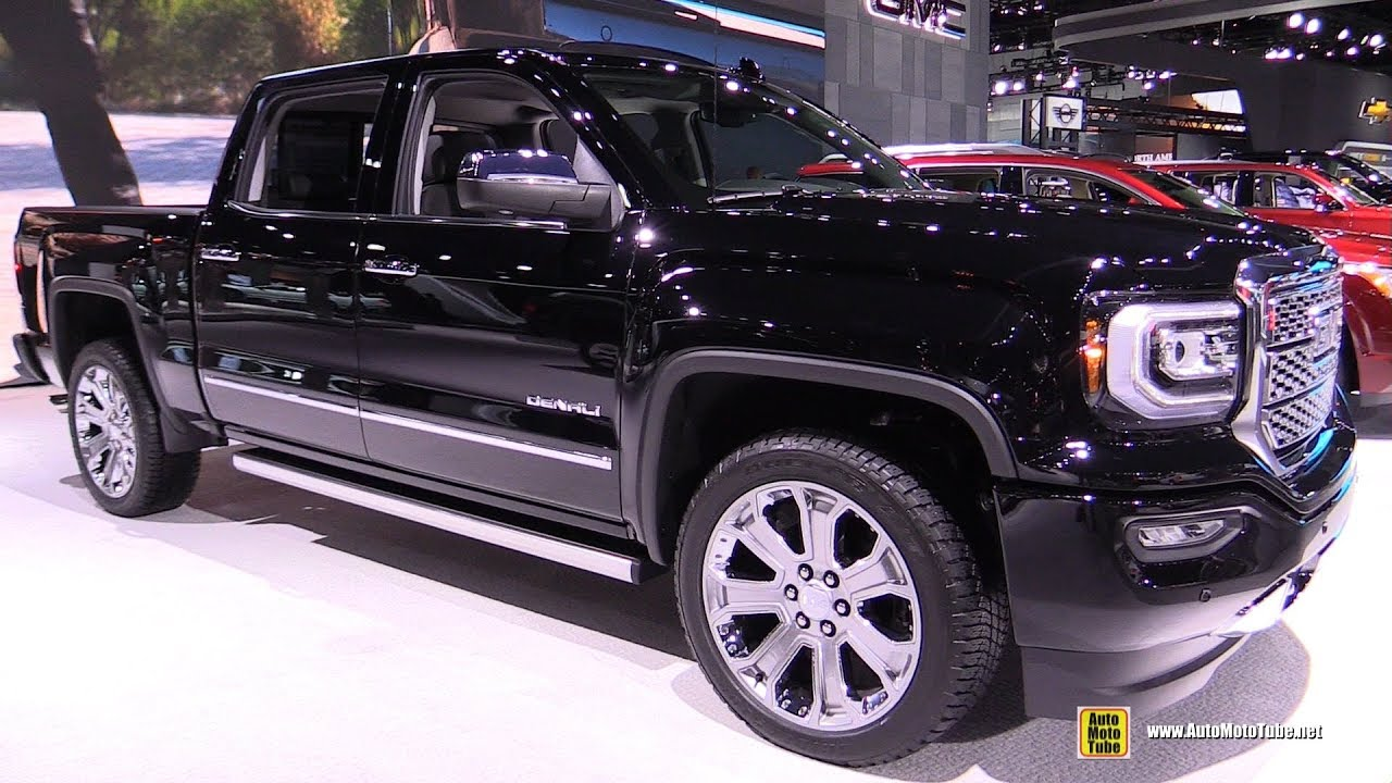 2018 GMC Sierra Denali - Exterior and Interior Walkaround ...