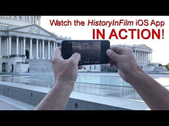 Short Promo for the HistoryInFilm Mobile App