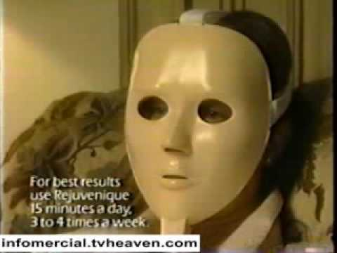 Electronic facial mask