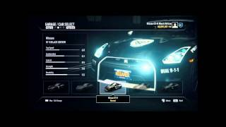 NFS Rivals - All cars from the game (including all DLCs)