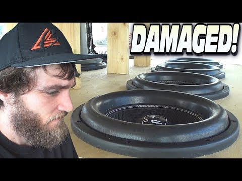 BIGTIME Subwoofer Damage... Inside EXTREME Car Audio BASS Sound Systems & WOOFER Excursion