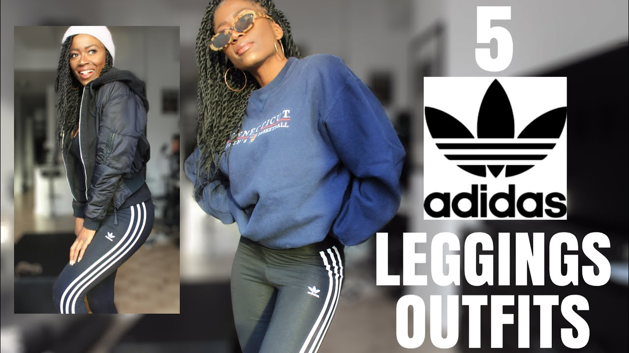 [VIDEO] - How to wear Adidas Leggings for fall- Hailey Bieber inspired Casual Lookbook 5