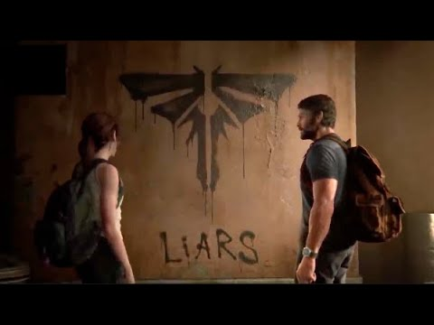 Ellie Finds Out That Joel Lied about Fireflies Last Of Us 2 - YouTube