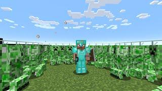Minecraft 1000 Creeper vs Speedrunner AMA olamayan