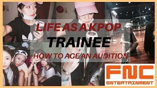 my experience as a kpop trainee + private auditions (real footage and pictures)