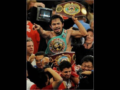 Manny Pacquiao vs Joshua Clottey Round By Round HBO Boxing (Sports News)