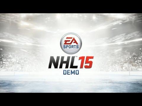 NHL 15 DEMO [ПЕРВЫЙ ВЗГЛЯД/ОБЗОР]