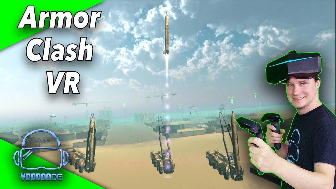 Echtzeitstrategie mit Basenbau – Armor Clash VR [Pimax Gameplay]