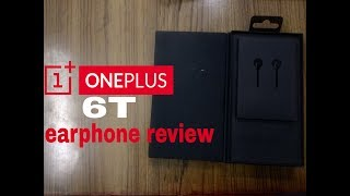 oneplus 6t bullet earphone review!!!!1