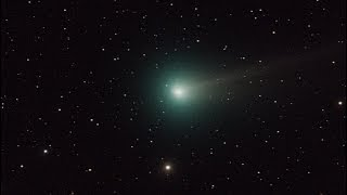 Ison and Comet Lovejoy from West Ar 11-11-2013