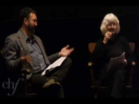 Literary Laughs:  Alison Lurie and Bill Savage