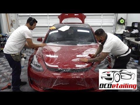 Tesla Model 3 - Epic Paint Protection - Suntek Ultra PPF and CQuartz Finest Reserve - OCDetailing®