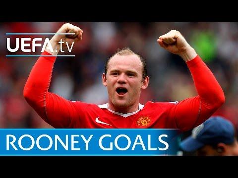 Wayne Rooney - 10 Great European Goals - Manchester United