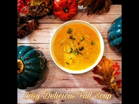 How to Make Easy Delicious Pumpkin Cauliflower Soup