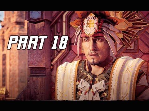 Horizon Zero Dawn Walkthrough Part 18 - The Sun King (PS4 Pro Let's Play Commentary)