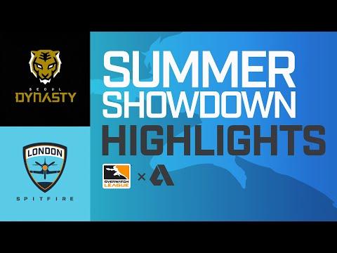 Akshon Highlights   Seoul Dynasty vs London Spitfire   Summer Showdown   APAC Day 1
