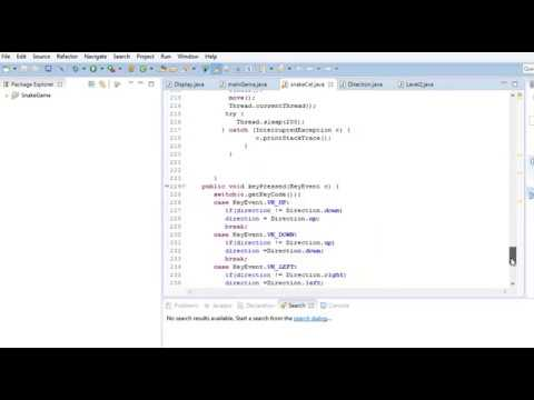 Snake Game In Eclipe Java Complete Source Code