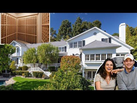 Mila Kunis & Ashton Kutcher House Tour 2020