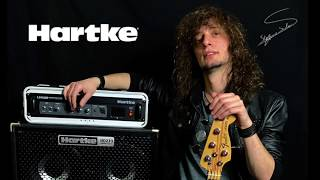 Testing Hartke LH 500 head and HD410 Hy Drive cabinet