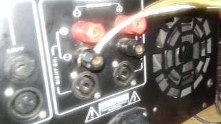 Cara membuat power ampifier lapangan 1200 watt
