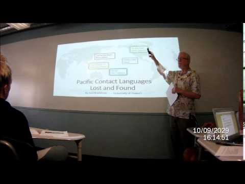 Pacific Languages Lost and Found