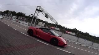 Jazda Lamborghini Gallardo vs Nissan GT-R – Tor Łódź video