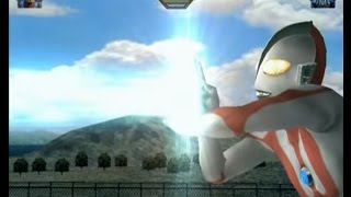 Ultraman FE3 - Intros & Special Moves (Ultraman Side Ver.)