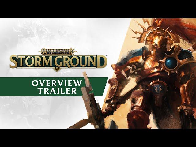Warhammer Age of Sigmar: Storm Ground (видео)