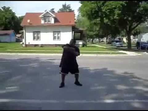 guy gets hit by ice cream truck (ft. Optimo-'I'm Gipper' available on ITUNES)