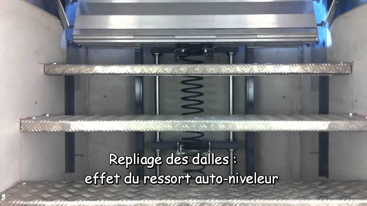 Protection de fosse d 39 atelier en aluminium reus for Faire une fosse de garage