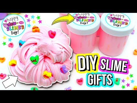 DIY SLIME GIFTS! How To Make Cute Slime Gifts!