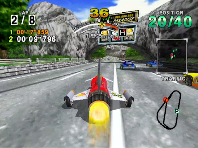 Daytona USA 2001 - Three Seven Speedway with Javelin