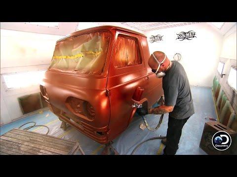 An Orange Paintjob Makes the Econoline Van Sparkle | Fast N' Loud