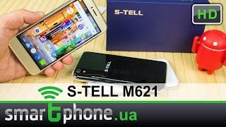 s-TELL M621 - Обзор смартфона (5 дюймов, 2 ГБ ОЗУ, 16 ГБ памяти)