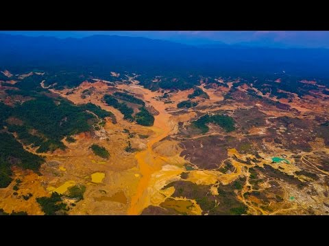 Mapping the Damage Caused by Gold Mining in the Amazon
