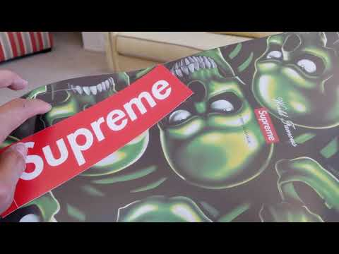 [ASMR] Unboxing My Supreme Skateboard Decks Collection FW17~SS19!