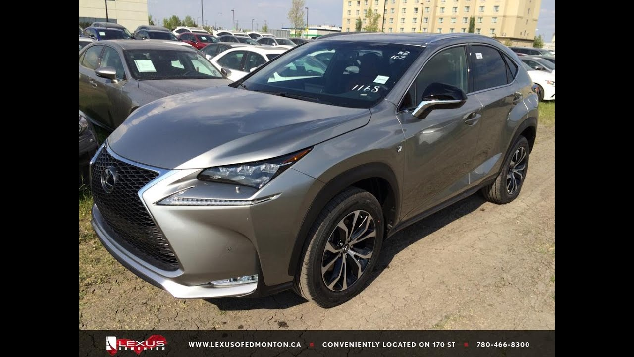 Lexus Nx 200t For Sale >> New Atomic Silver on Red 2015 Lexus NX 200t AWD F Sport ...