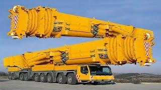 Dünyanın En Güçlü Vinç ! İnşaat Ustaları Bu Makinelere Aşık