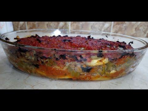 مسقعة-mssa9a3a-recette-moussaka-égyptienne-aubergines-viande-hachée