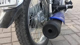 Exhaust sound Test Of Honda CG125 || 2018 Model